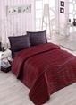 Eponj Home Çift Kişilik Yatak Örtüsü Bordo